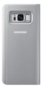 Samsung foliocover Galaxy S8 Clear stand view zilver-Achteraanzicht