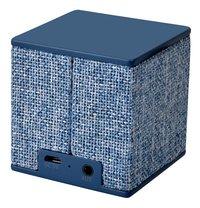 Fresh 'n Rebel luidspreker bluetooth Rockbox Cube Fabriq Edition blauw-Achteraanzicht