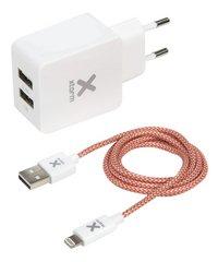 Xtorm USB-netstroomadapter met lightning kabel