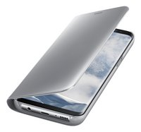 Samsung foliocover Galaxy S8 Clear stand view zilver-Artikeldetail