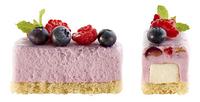 Lékué Bakvorm 6 round mini log cakes-Afbeelding 2