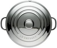 Le Creuset ronde stoofpan inox 20 cm-Bovenaanzicht
