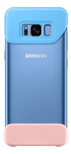 Samsung cover Galaxy S8 blauw/roze