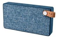 Fresh 'n Rebel haut-parleur Bluetooth Rockbox Slice Fabriq Edition bleu