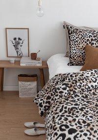 Ambianzz Dekbedovertrek Leopard Skin naturel katoen-Afbeelding 2