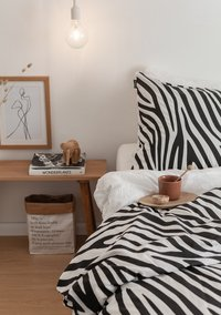 Ambianzz Housse de couette Zebra Skin coton-Image 2