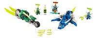 LEGO Ninjago 71709 Les bolides de Jay et Lloyd-Avant