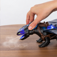Figuur How to Train Your Dragon 3 Giant Fire Breathing Toothless-Afbeelding 2