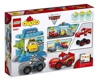 LEGO DUPLO 10857 Piston Cup race-Achteraanzicht