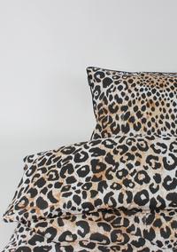 Ambianzz Dekbedovertrek Leopard Skin naturel katoen-Afbeelding 3