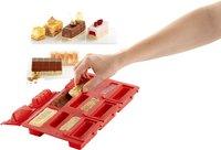 Lékué Bakvorm 6 round mini log cakes-commercieel beeld