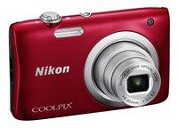 Nikon Digitaal fototoestel Coolpix A100 rood-Linkerzijde