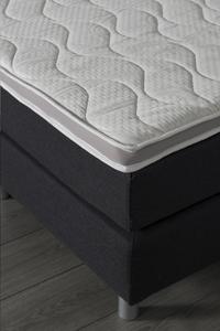 Surmatelas avec mousse à mémoire forme et tissu Coolmax® 140 x 200 cm-Image 2