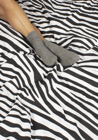 Ambianzz Housse de couette Zebra Skin coton-Image 4