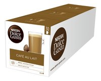 Nescafé Capsules Dolce Gusto XL café au lait - 3 dozen-Rechterzijde