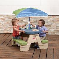 Step 2 table de pique-nique pour enfants Sit and Play avec parasol-Image 3