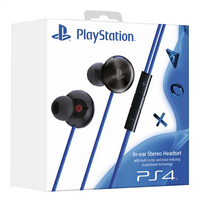 Sony écouteurs PS4 in ear noir