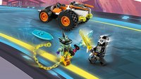 LEGO Ninjago 71706 Le bolide de Cole-Image 7