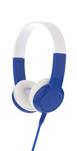 Hoofdtelefoon Buddyphones Explore blauw/wit