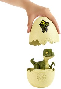 Jurassic World figuur Hatch 'n Play Dinos Tyrannosaurus Rex groen-commercieel beeld