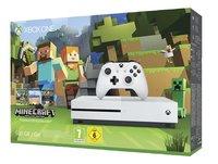 XBOX One S 500 GB + Minecraft-Côté droit