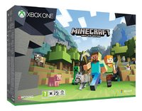 XBOX One S 500 GB + Minecraft-Artikeldetail