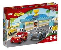 LEGO DUPLO 10857 Piston Cup race-Linkerzijde
