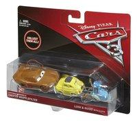 Auto Disney Cars 3 Bliksem McQueen als Chester Whipplefilter, Luigi & Guido