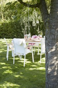 Chaise de jardin Breeze blanc-Image 2