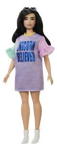 Barbie poupée mannequin  Fashionistas Curvy 127 - Unicorn Believer-Côté droit
