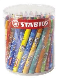 STABILO pastel Yippy-Wax - 80 pièces