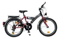 Citybike 20' rood/zwart