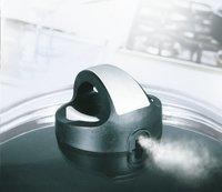 Couvercle universel en verre avec bouton vapeur 22 cm-Détail de l'article