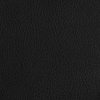 Boxspring fixe Mattie aspect cuir noir 180 x 200 cm-Détail de l'article