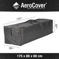 AeroCover Housse de protection pour coussins rectangulaire polyester L 175 x Lg 80 x H 60 cm-Détail de l'article