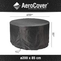 AeroCover Housse de protection pour ensemble de jardin rond polyester 200 x 85 cm-Détail de l'article
