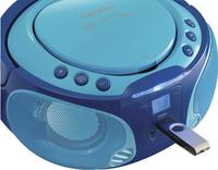 Lenco radio/lecteur CD portable SCD 650 bleu-Image 1