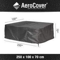 AeroCover Housse de protection pour canapés de jardin lounge polyester L 250 x Lg 100 x H 70 cm-Détail de l'article