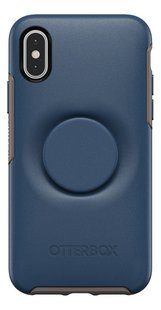 Otterbox coque Otter + Pop Symmetry Series Case pour iPhone X/Xs Go To Blue-Arrière
