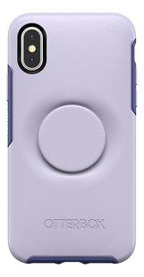 Otterbox coque Otter + Pop Symmetry Series Case pour iPhone X/Xs Lilac Dusk-Arrière