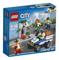 LEGO City 60136 Politie starterset