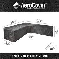 AeroCover Beschermhoes voor loungeset Trapeze L-vorm polyester L 270 x B 100 x H 70 cm-Artikeldetail