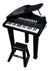 Piano met stoel en micro