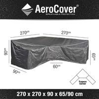 AeroCover Beschermhoes voor loungeset Trapeze L-vorm en hoge rugleuning polyester L 270 x B 90 x H 90 cm-Artikeldetail
