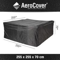 AeroCover Housse de protection pour ensemble lounge polyester L 255 x Lg 255 x H 70 cm-Détail de l'article