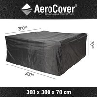 AeroCover Beschermhoes voor loungeset polyester L 300 x B 300 x H 70 cm-Artikeldetail