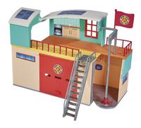 Sam le pompier Nouvelle caserne de pompiers-Côté droit