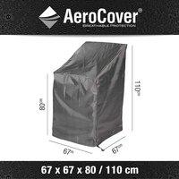AeroCover Beschermhoes voor stapelzetels polyester L 67 x B 67 x H 110 cm-Artikeldetail