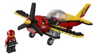 LEGO City 60144 Racevliegtuig-Vooraanzicht