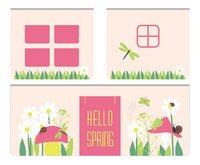 Speelgordijn Hello Spring Pino halfhoogslaper-Vooraanzicht